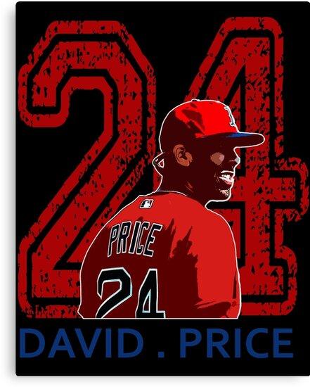Price Pitcher No 24 Boston Baseball Player by Hibive1971