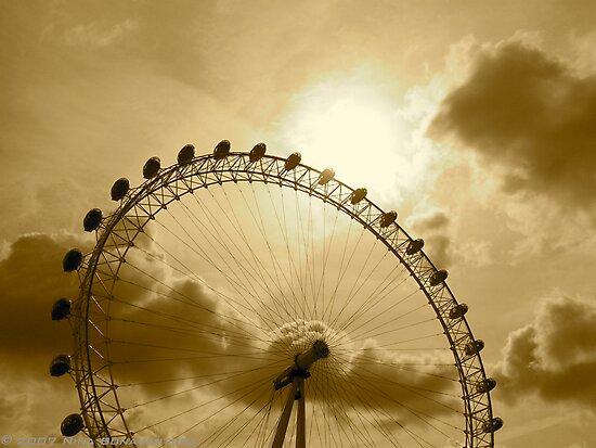 The London Eye by NinaB