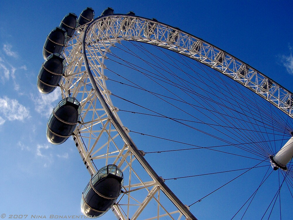 The London Eye by NinaB
