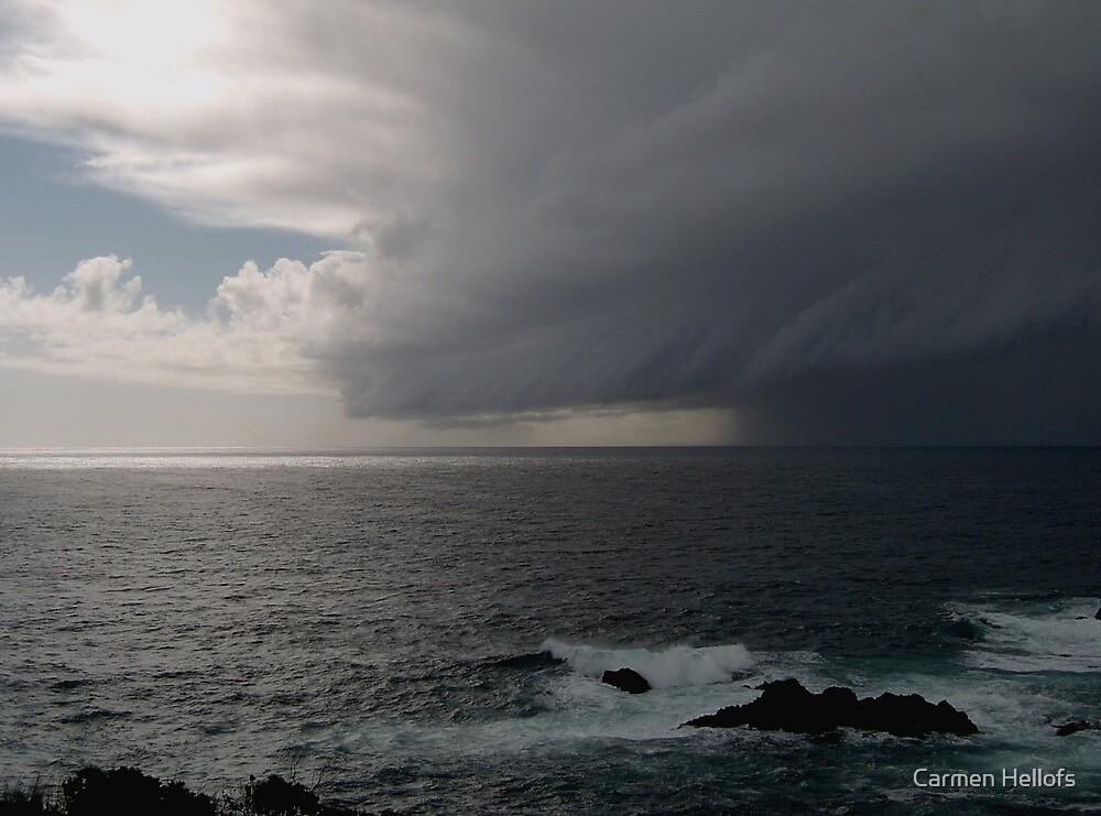 Storm near Monterey by Carmen Hellofs