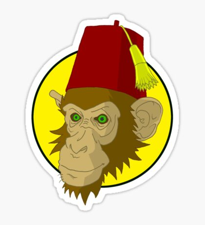 Fezmonkey Sticker