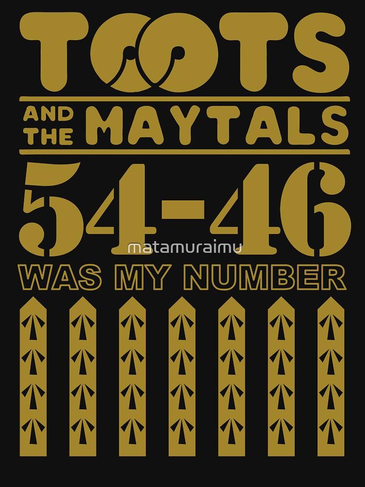 Tooots und die Maytals von matamuraimu