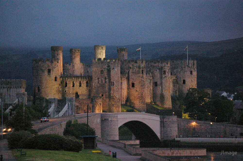 Conwy Castle at Night 2 by JImage