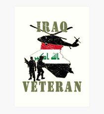 Iraqi Freedom Veteran Art Print