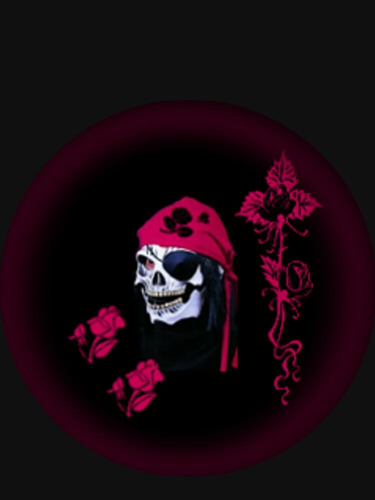 rose skull by cheywings