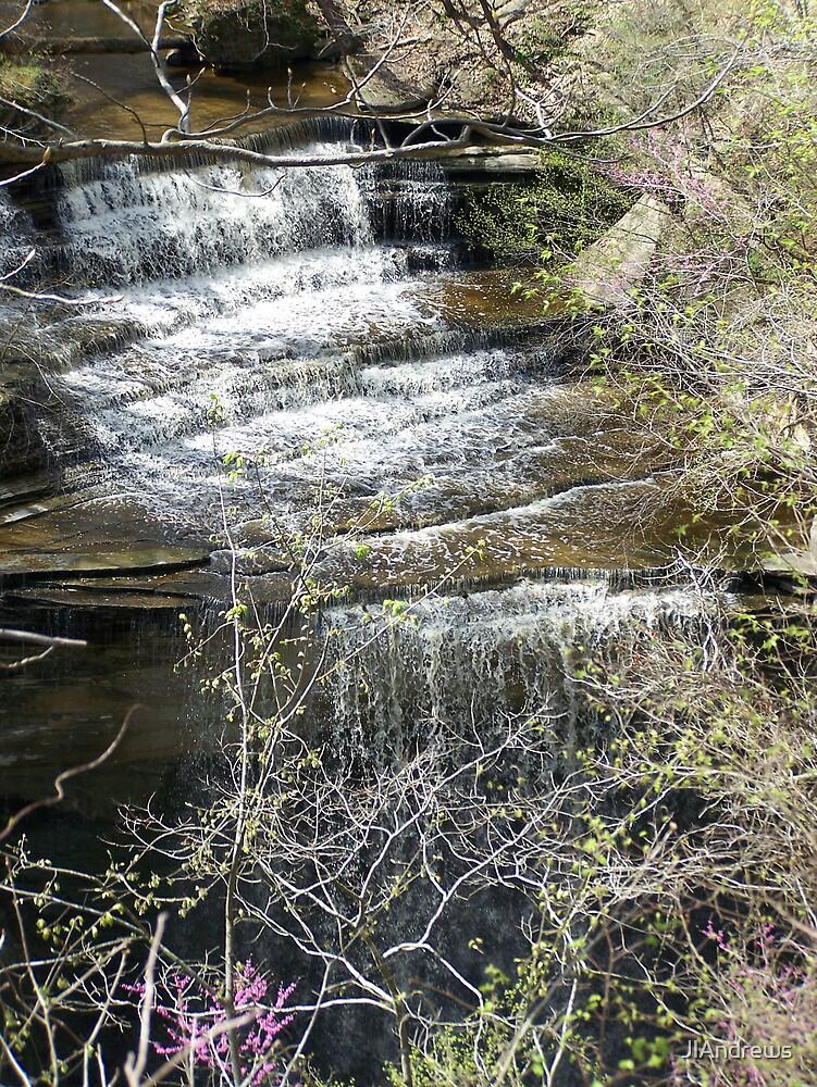 waterfall by JlAndrews