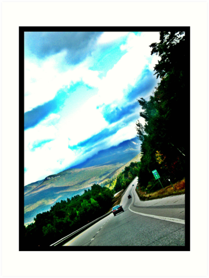 Road in the Mountains by Tommy Seibold