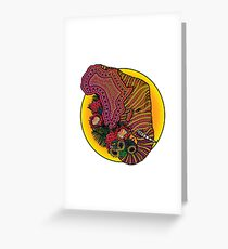 Loxodonta Africana Greeting Card