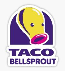taco bellsprout Sticker