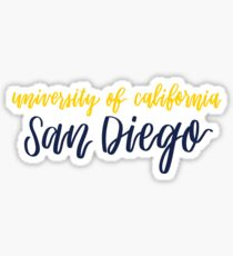 UC San Diego Sticker