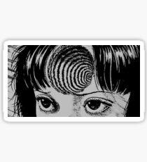 Uzumaki Spiral Aufkleber Sticker