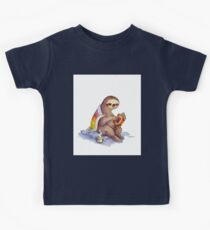 Cozy Sloth Kids Tee