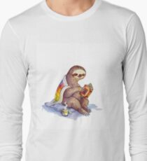 Camiseta de manga larga Cosy Sloth