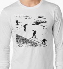 Snowboard - Landing Long Sleeve T-Shirt