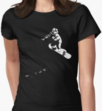 Snowboard - Method Womens Fitted T-Shirt