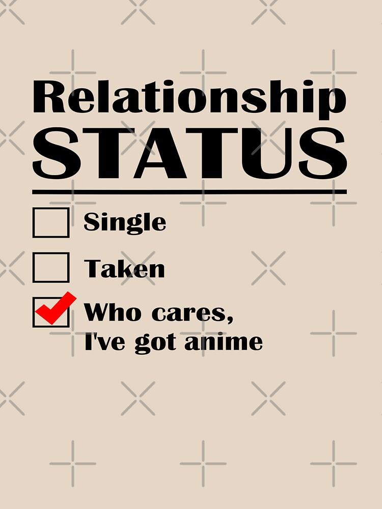 Relationship Status Anime by GeekyAngel