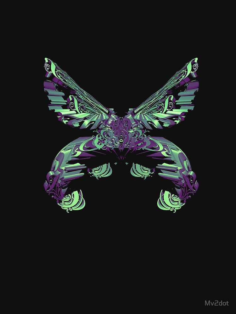 C4D butterfly by Mv2dot