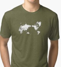 THE WORLD IS YOURS ! Tri-blend T-Shirt