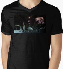 Alien Landscape Men's V-Neck T-Shirt