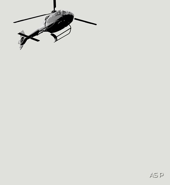 helicopter by AS P