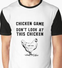 The Chicken  Game Graphic T-Shirt