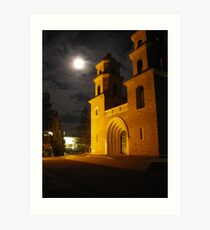 St. Francis Xavier Cathedral  Art Print