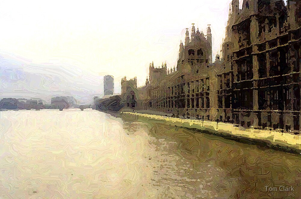 The Thames by Tom Clark
