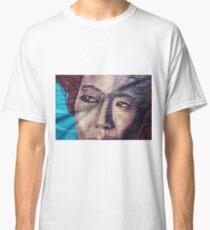 Graffiti portret Classic T-Shirt