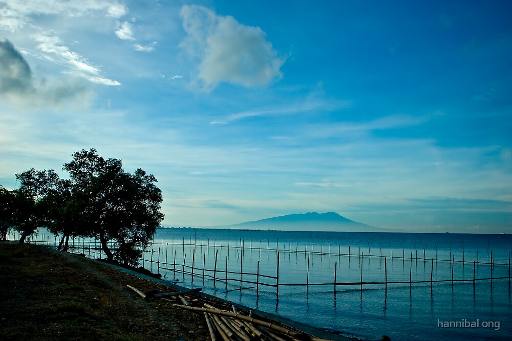 blue beach by hannibal ong