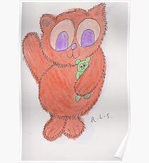 Katzenbär Poster