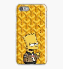 Goyard Yellow Pattern The Bart Hypebeast iPhone Case/Skin