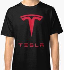 Tesla Car Logo Classic T-Shirt