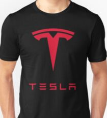 Tesla Car Logo Unisex T-Shirt