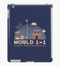 WORLD 1-1 iPad Case/Skin
