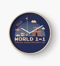 WORLD 1-1 Clock