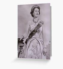 """Queen Elizabeth II"" - Coronation Greeting Card"