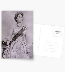 """""""Queen Elizabeth II"""" - Coronation Postcards"""