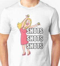 Shots! shots! shots! Unisex T-Shirt