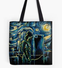 Starling Night (Arrow & Van Gogh) Tote Bag