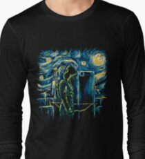 Starling Night (Arrow & Van Gogh) Long Sleeve T-Shirt