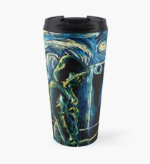 Starling Night (Arrow & Van Gogh) Travel Mug