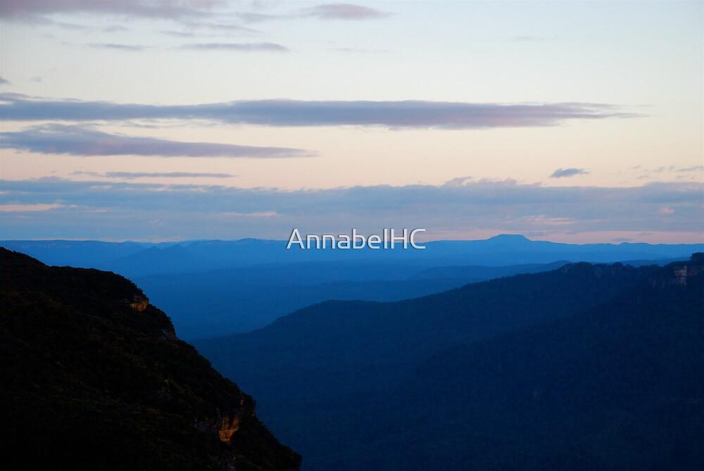 Evening light through the Valley  by AnnabelHC
