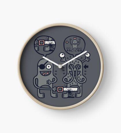 To Attain Higher Perspective Through Detachment Clock