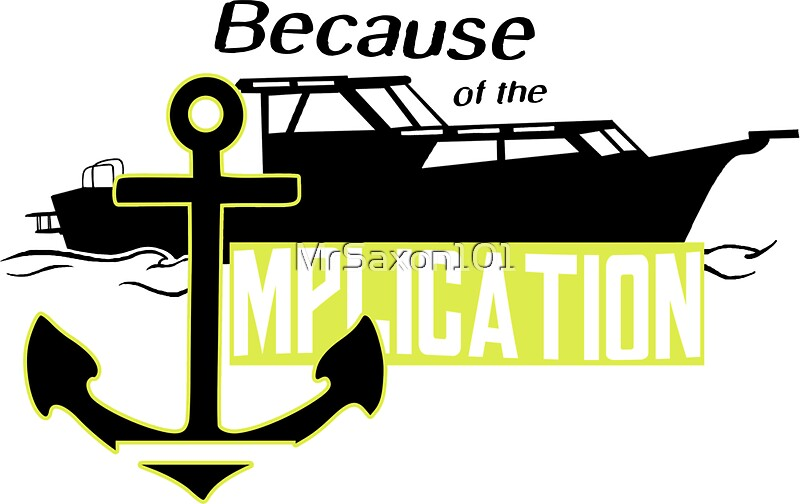 The implication stickers by mrsaxon101 redbubble for Home decor newtownards