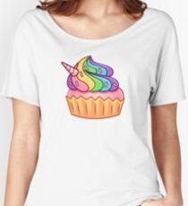 Unicorn Cupcake Women's Relaxed Fit T-Shirt