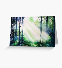 Forest Light 15 Greeting Card