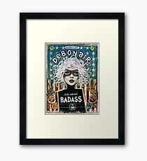 Debonair (Debbie Harry) Blondie Framed Print