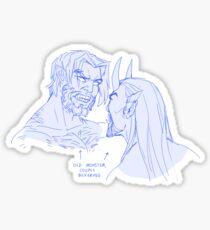 Bickering Sticker