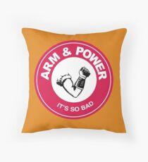 ARM & POWER Throw Pillow