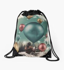 Magic balloons Drawstring Bag